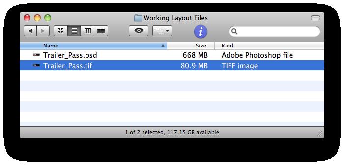 LZW tiff file size is 80.9 MB