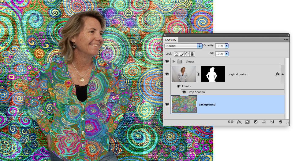 texturized background