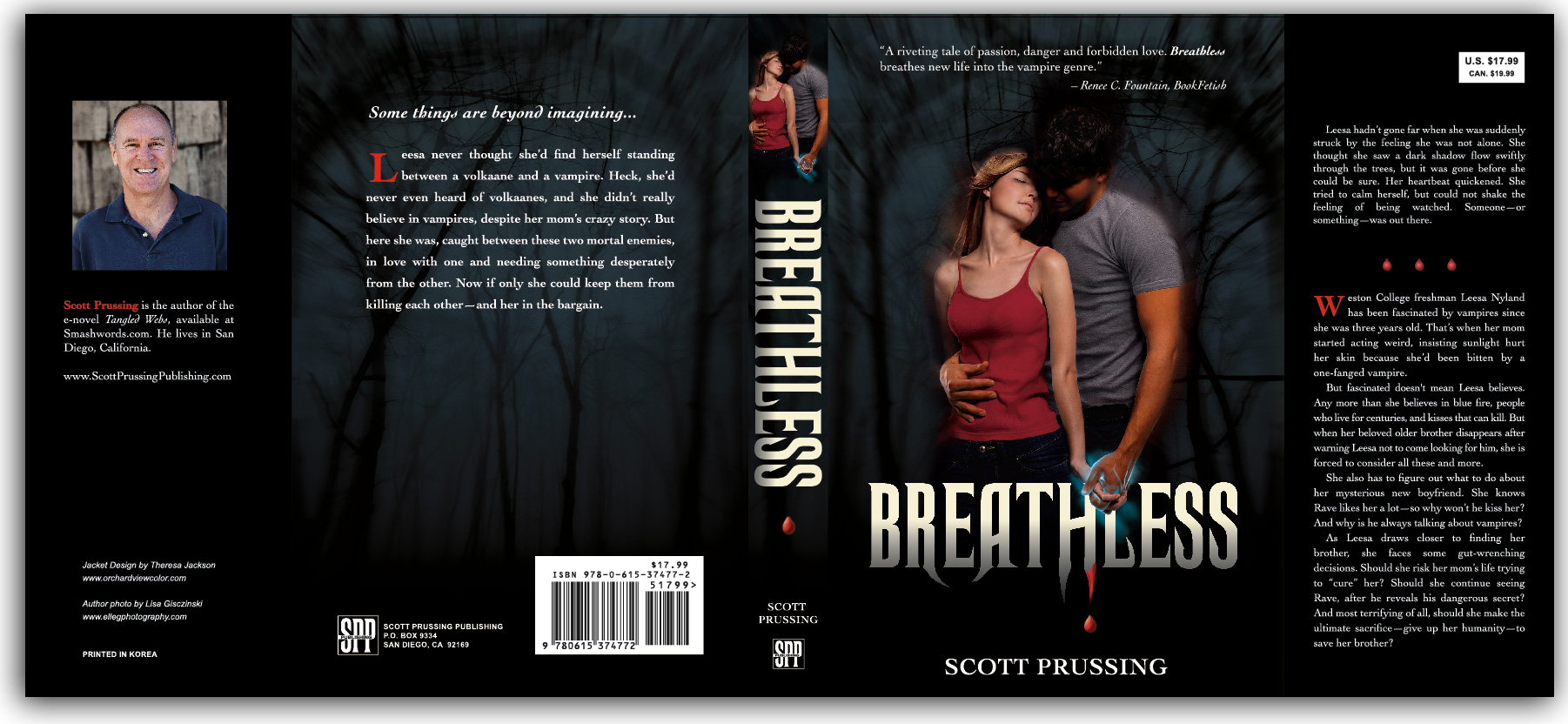 image of Breathless complete book jacket