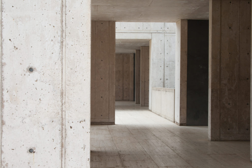 image of Salk Hallway original frame without person