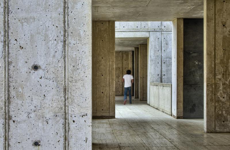 image of final Salk Hallway