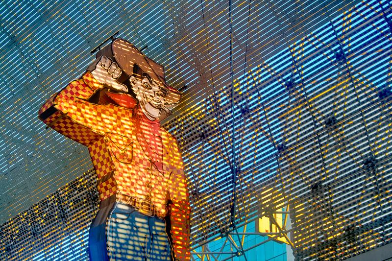 Frontier Man Fremont Street Vegas