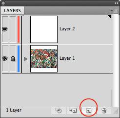 image of Illustrator Add Layer