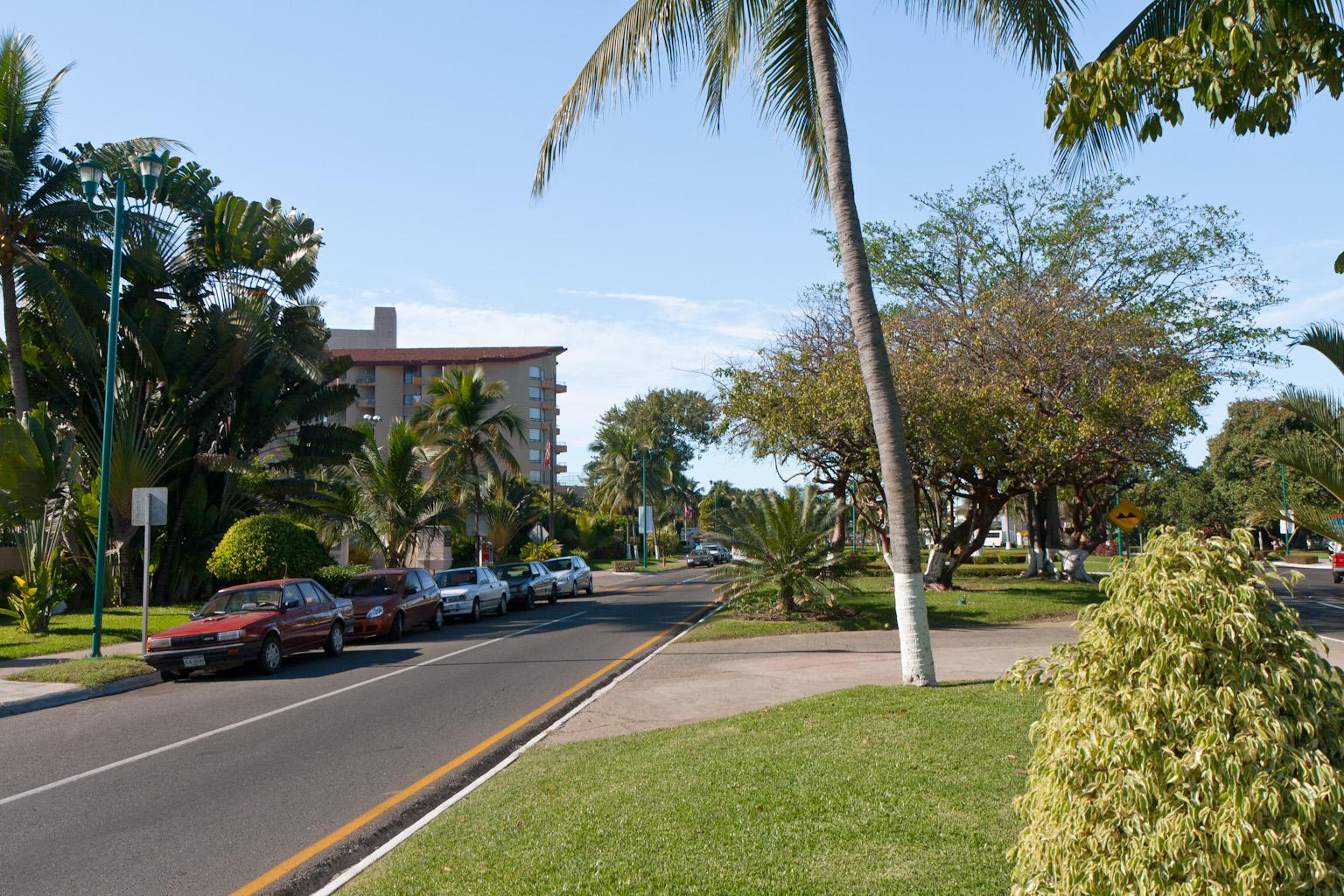 Ixtapa street