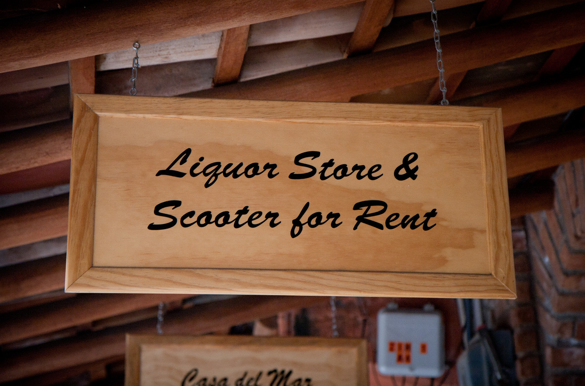 liquor store and scooter for rent