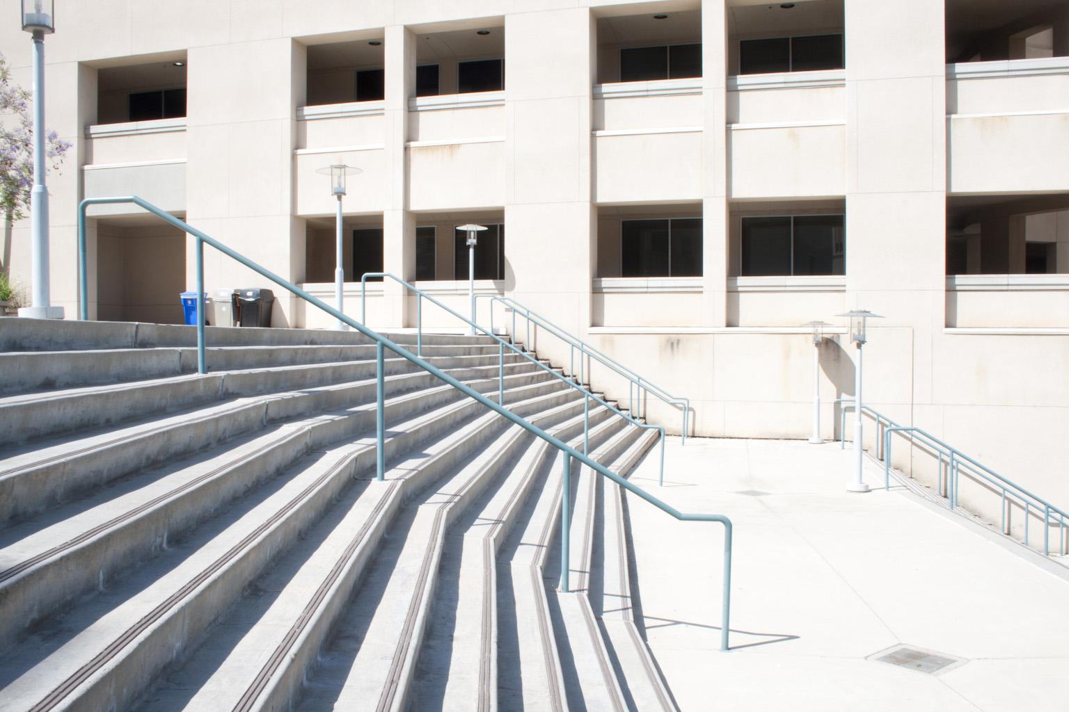 CSUSM Stairs bracket +2