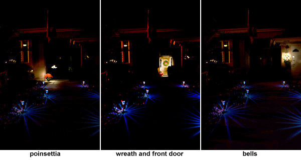original light painted images of Holiday home