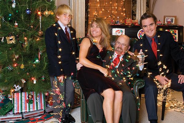 2007 Christmas Card back