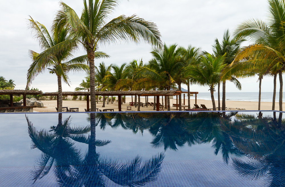 Las Palmas Pool reflections 1