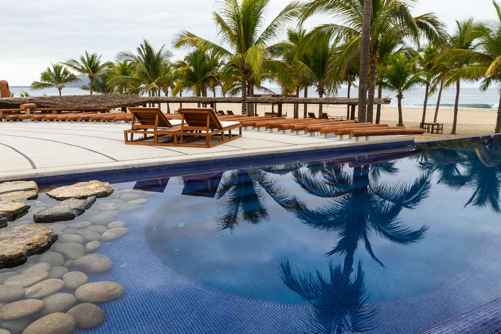 Las Palmas Pool reflections 2