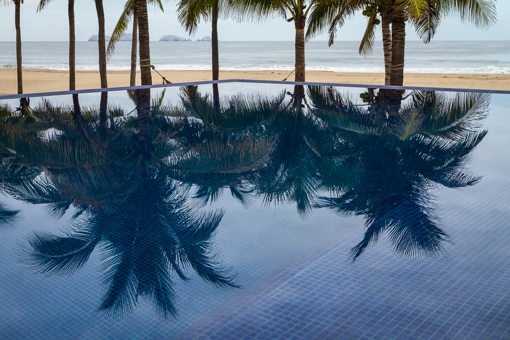 Las Palmas Pool reflections 3