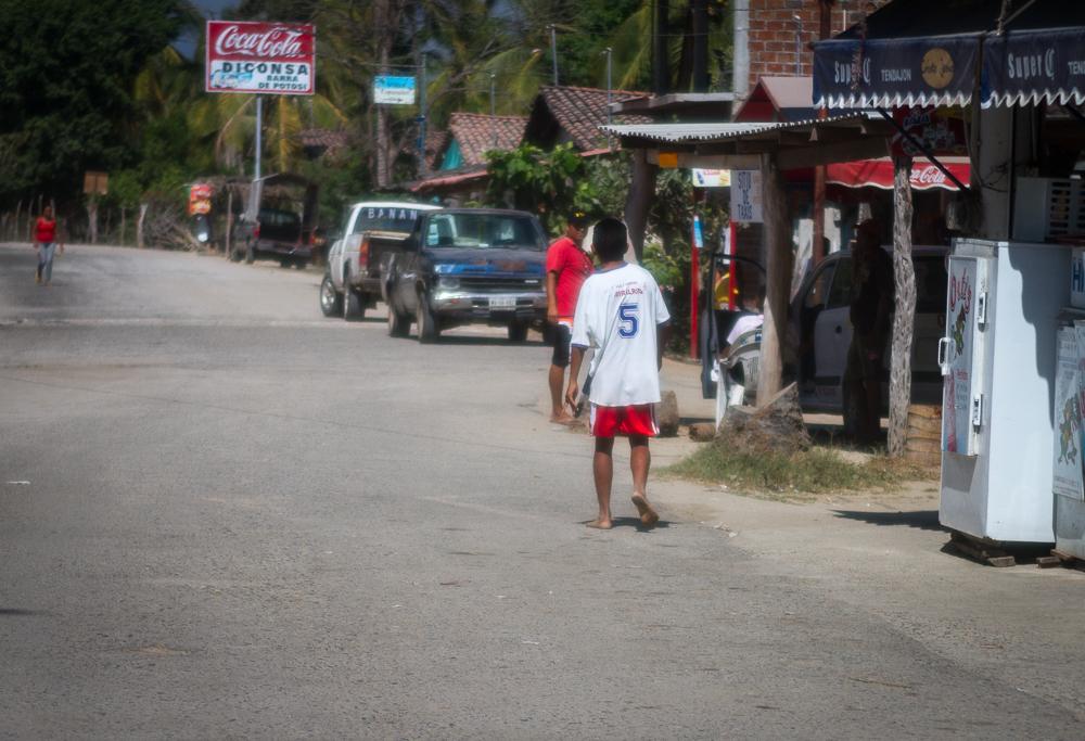 Barra De Potosi street