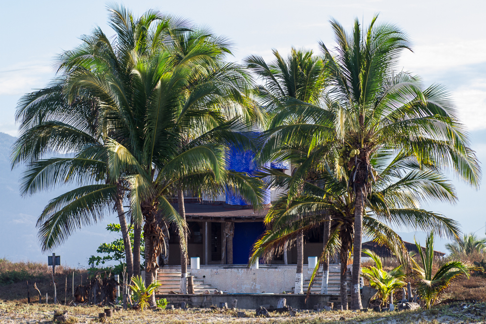 Playa Blanca abandoned resort Home front