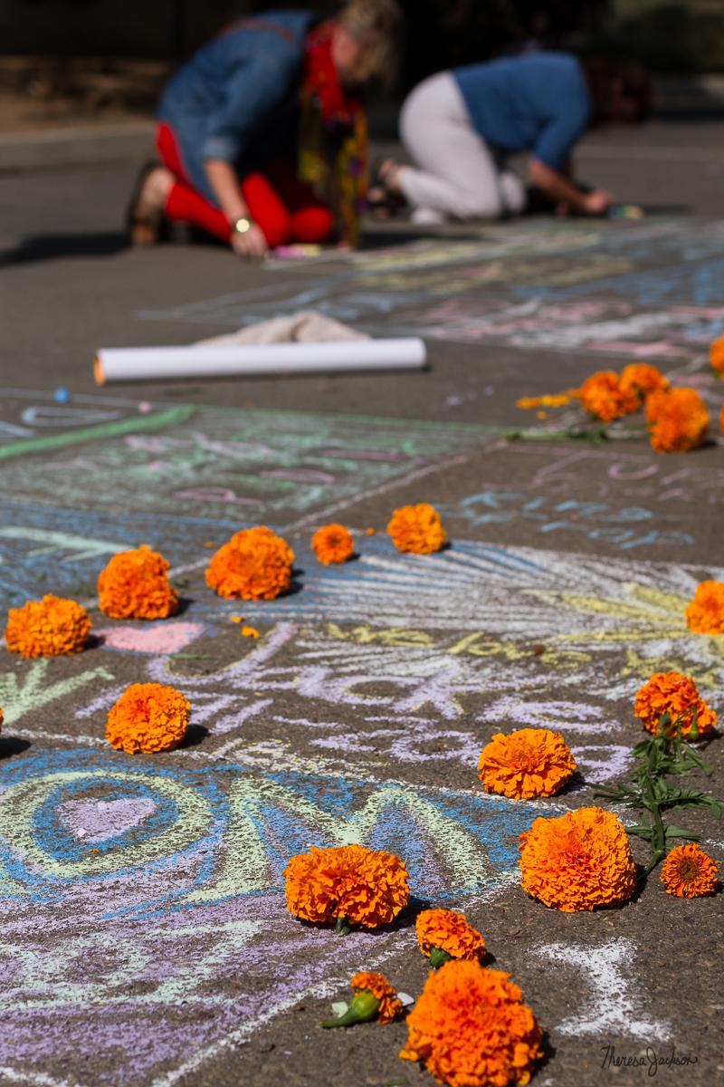 chalk sidewalk