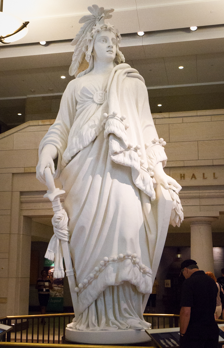 US Capital Statue of Freedom replica