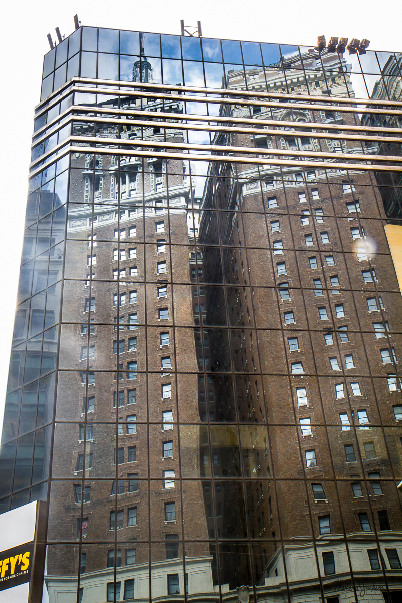 NYC building reflections