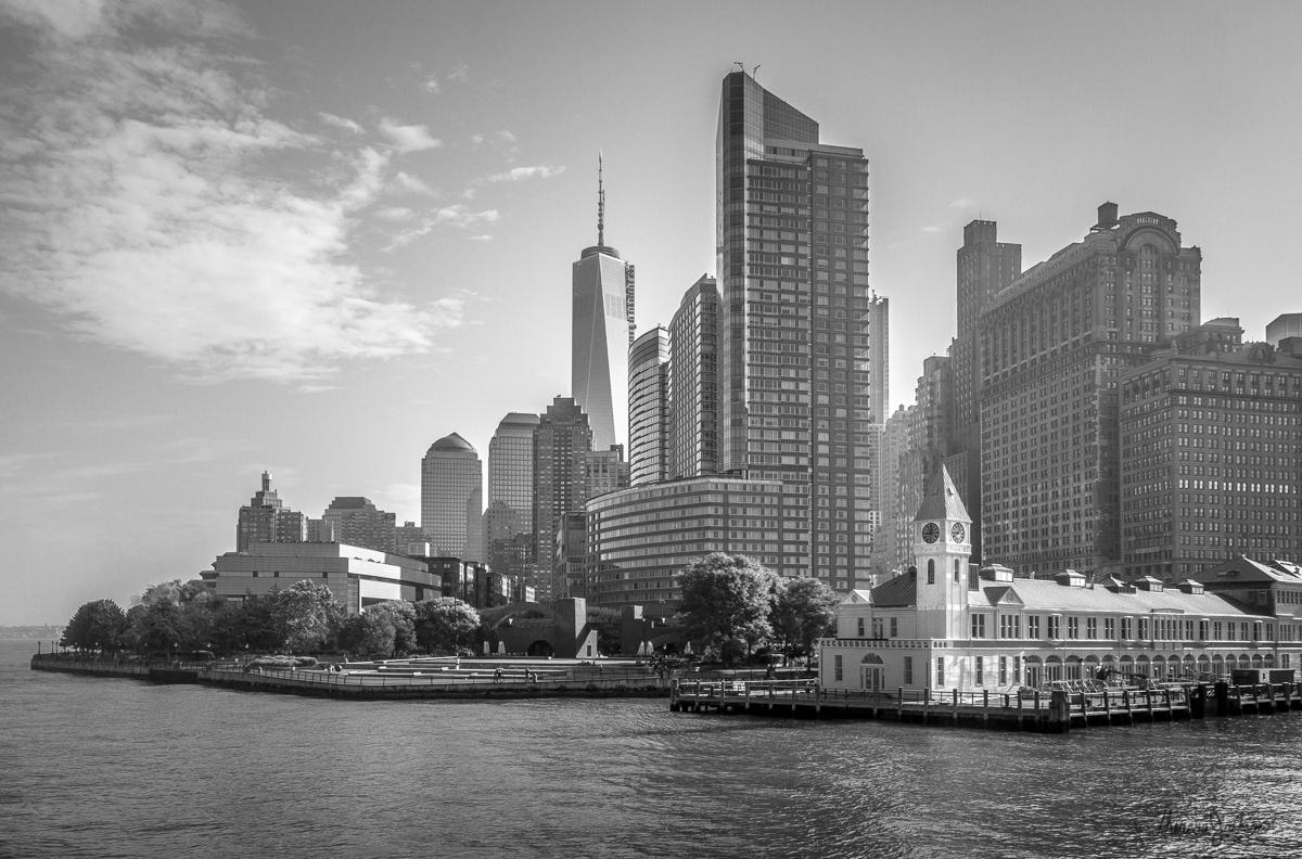 Leaving Battery Park