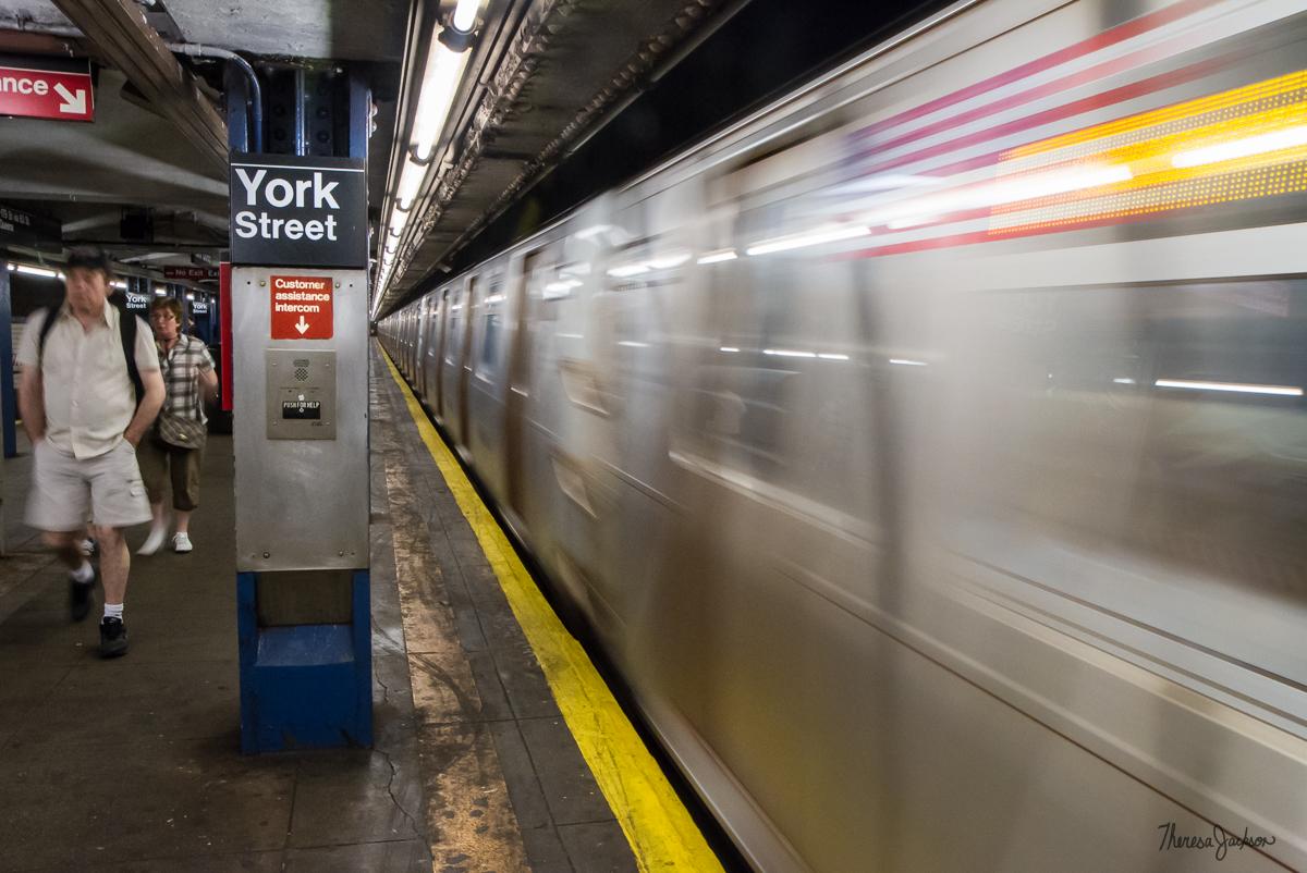 York Street Subway