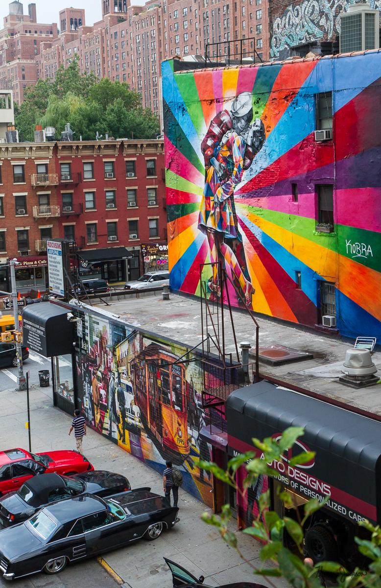 """Kobra - """"V-J Day in Times Square."""""""