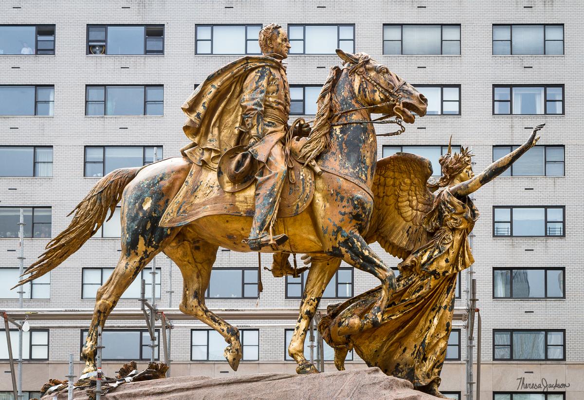 Sherman Monument - Goddess of Victory