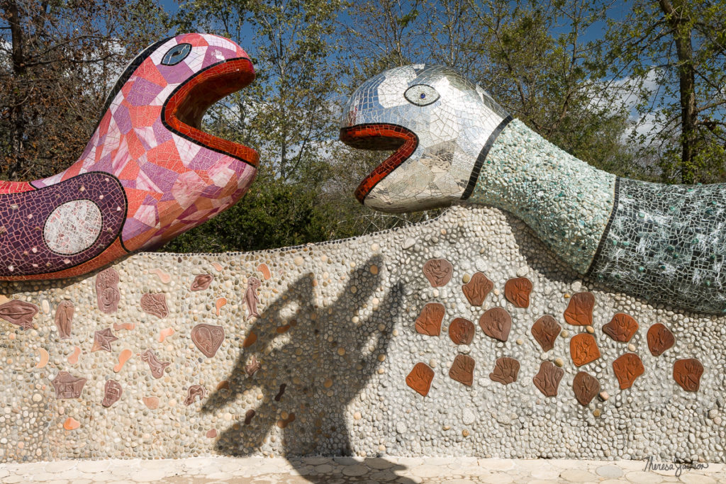 Queen Califia's Magical Circle Snake Wall