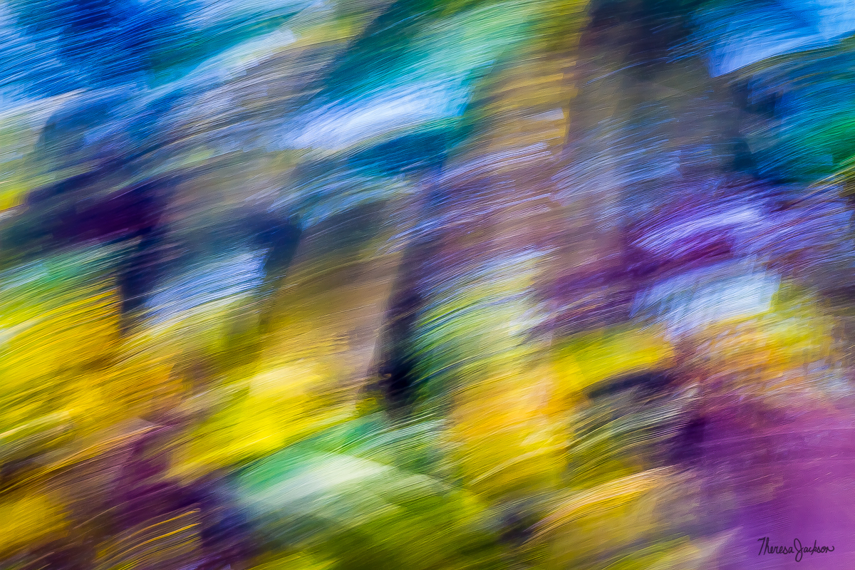 Abstract in Easter Egg Colors