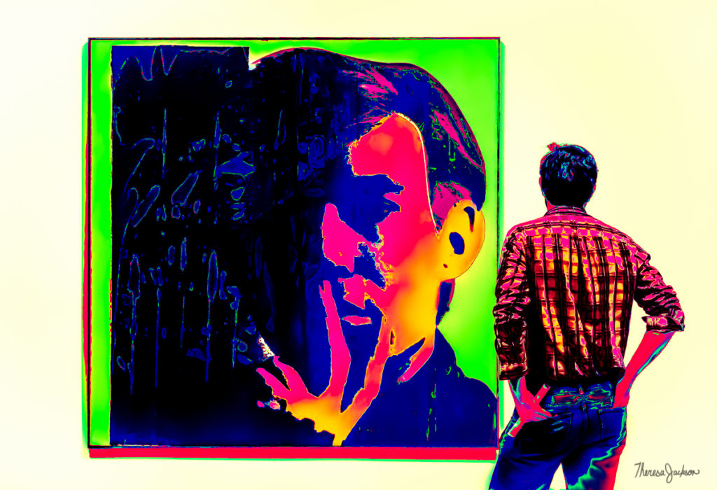 Andy Warhol's Self Portrait