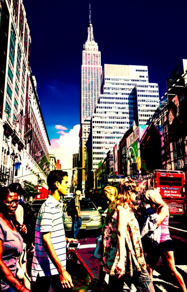 NYNY crowd