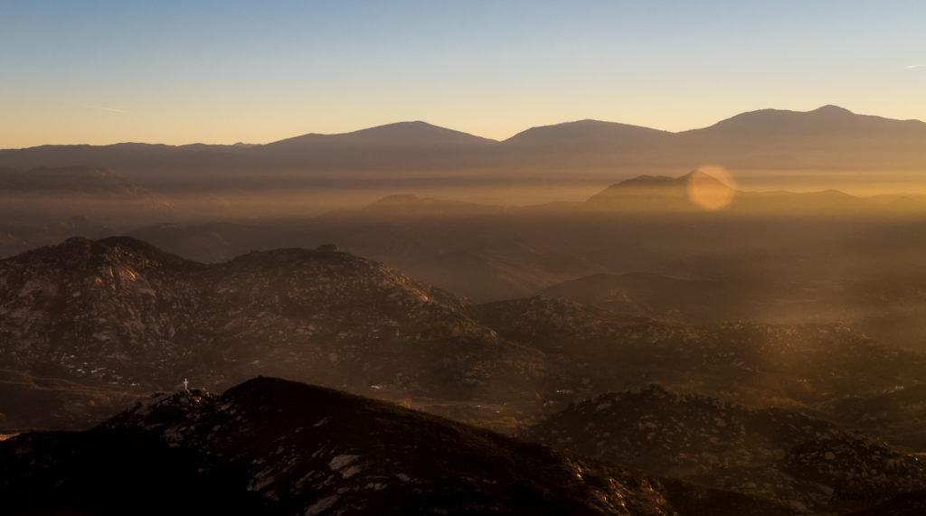 sunrise from Iron Mtn