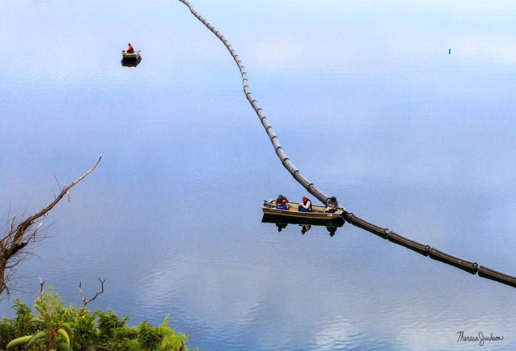 Lake Poway Fishermen