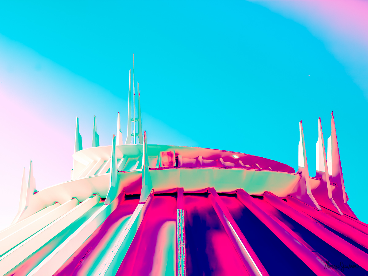 Disneyland Space Mountain